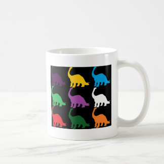 Farbiges Dinos Kaffeetasse