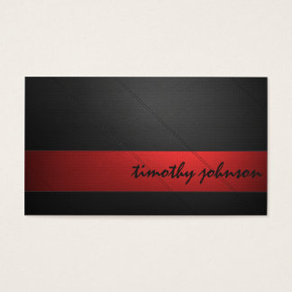 Farbiges Leder Visitenkarte