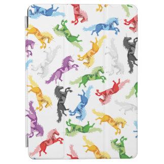 Farbiges Muster-Einhorn iPad Air Cover