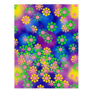 Farbkreis, Wand, formt Runde, Kunst-Art-Dunkelheit Postkarte