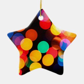 Farbkreise Keramik Stern-Ornament
