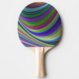 Farbkurven Tischtennis Schläger