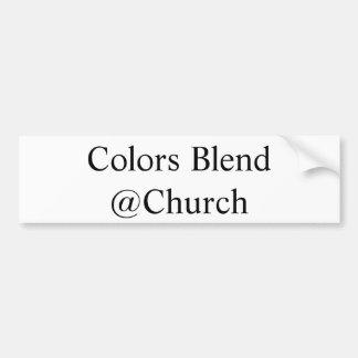 """Farbmischung @Church"" Aufkleber Autoaufkleber"