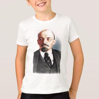 Farbporträt von Lenin T-Shirt