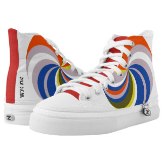 Farbrad hohe Spitzen Hoch-geschnittene Sneaker