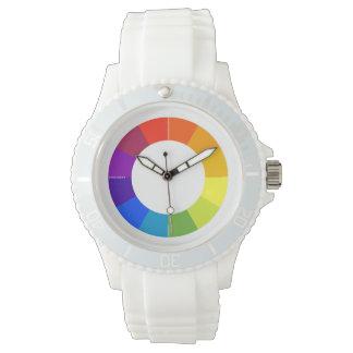 Farbrad-Uhr (mehrfarbig) Handuhr