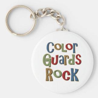 Farbschutz-Felsen Schlüsselanhänger