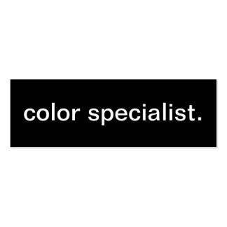 Farbspezialisten-Visitenkarte
