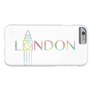 Farbspritzen iPhone 6/6s Londons Big Ben Fall Barely There iPhone 6 Hülle