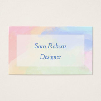 Farbspritzen Visitenkarte