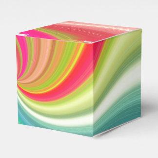 Farbstrudel-Regenbogen-Drehung Geschenkschachtel