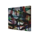 Farbtaschen - abstrakter Leinwand-Druck Leinwand Drucke