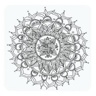Farbton-Karten-Mandala durch Harmonie Karte