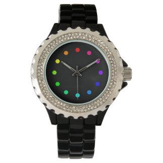 Farbuhr Armbanduhr