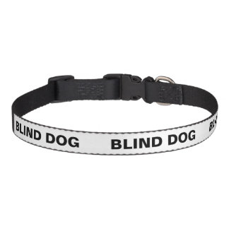 Farbunterlegter Hundetemperament-Kragen - blinder Haustierhalsband