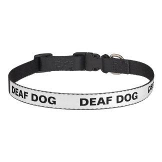 Farbunterlegter HundeTemperaments-Kragen - tauber Haustierhalsband