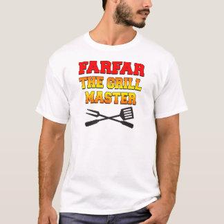 Farfar der Grill-Meister T-Shirt
