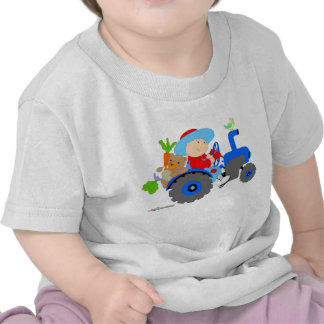 Farmer baby boy shirt