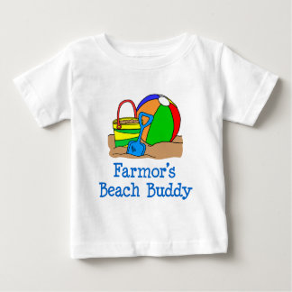 Farmors Strand-Freund Baby T-shirt