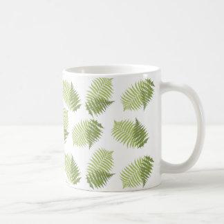 Farn-Blätter Kaffeetasse
