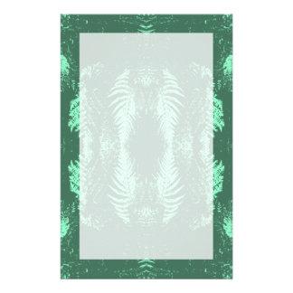 Farn-Muster im Grün Büropapier