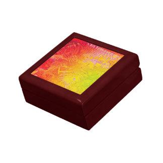 Farn-Rot/Yel HotWax Geschenkboxen rotes