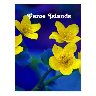 Färöer Postkarte