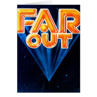 FarOut1 Grußkarte