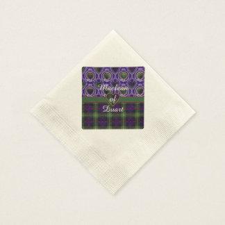 Farquarson Clan karierter schottischer Tartan Papierserviette