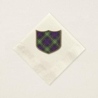 Farquarson Clan karierter schottischer Tartan Serviette