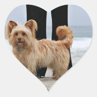 Farris - Lucy - Mischzucht Herz-Aufkleber
