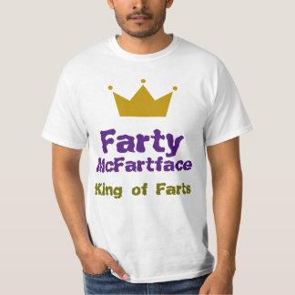Farty McFartface - König von Furzen T-Shirt