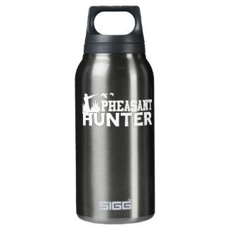 Fasan-Jäger-cooles Fasan-Jäger-Shirt Isolierte Flasche