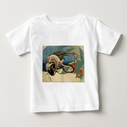Fasan und die Schlange Baby T-shirt