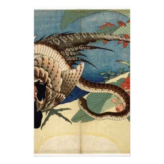 Fasan und die Schlange Briefpapier