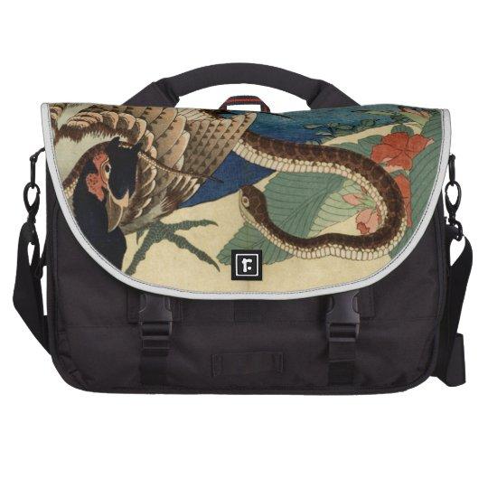 Fasan und die Schlange Laptop Tasche