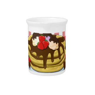 Faschingsdienstag - Pfannkuchen Krug