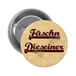 Fäschn Dieseiner Runder Button 5,7 Cm