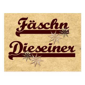 Fäschn Dieseiner Postkarte