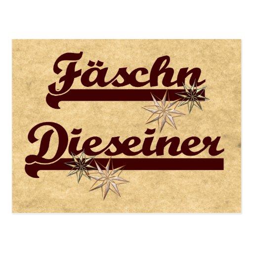 Fäschn Dieseiner Postkarten