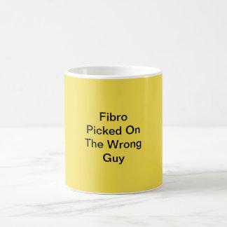 Faser ausgewählt auf der falschen Typ-Kaffee-Tasse Kaffeetasse
