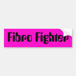 Faser Kämpfer des Fibromyalgia-Autoaufklebers… Autoaufkleber