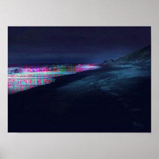 Faser-Küste Poster