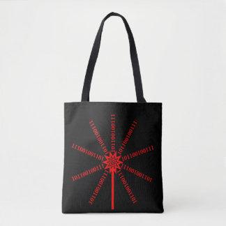 Faser-Optikdaten-Explosion Tasche