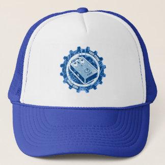 Fäserchen PEDAL Gang - Blau/Weiß Truckerkappe