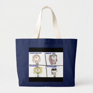Fashionista-Tasche Jumbo Stoffbeutel