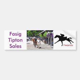 Fasig Tipton ausgewählte Verkäufe Autoaufkleber