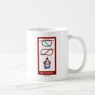 Fass-Anhängevorrichtung (Fass-Riemen) Kaffeetasse