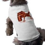 Fass, das Haustier-Kleidung läuft Hundetshirts