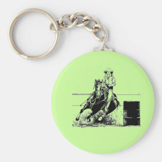 Fass-laufendes Pferd Schlüsselanhänger